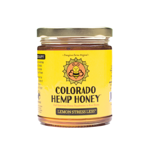 Lemon Stress Less Honey 12 oz Jar 1000mg