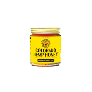 Lemon Stress Less Honey 6 oz Jar 500mg