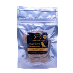 Herbal Fracture Peanut Butter Dog Treats 50mg