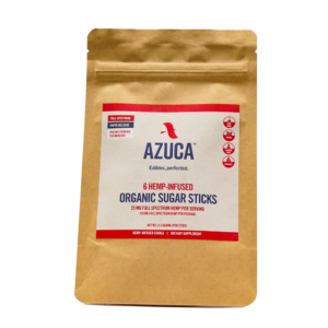 Azuca Hemp Organic Sugar Sticks 25mg